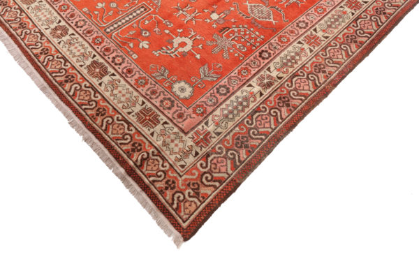 361831 Khotan Samarkand Circa 1900 Very Good Perfect Condition Size 426 X 210 Cm 3 600x371