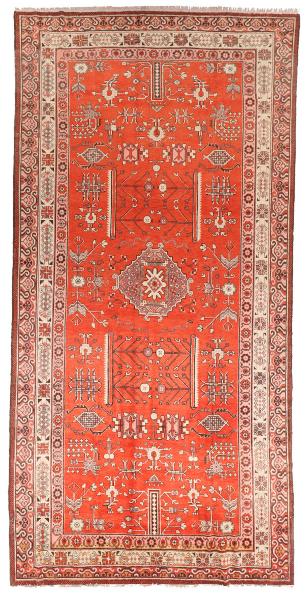 361831 Khotan Samarkand Circa 1930 Very Good Perfect Condition Size 426 X 210 Cm 1 600x1165