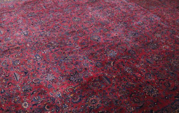 363446 Keshan Kork Manchester Wool Circa 1910 Very Good Condition Size 763 X 436 Cm 4 600x380