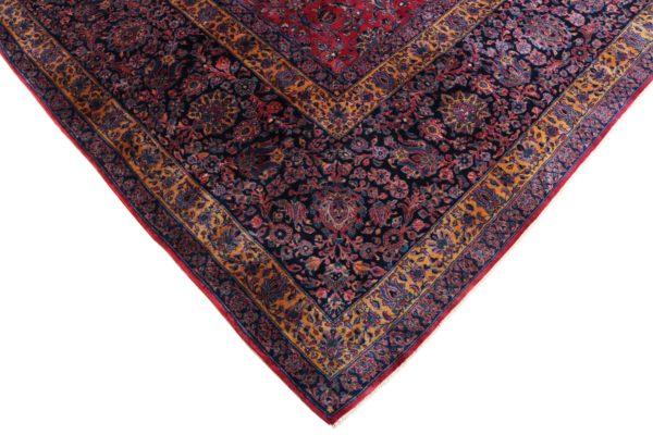 363446 Keshan Kork Manchester Wool Circa 1910 Very Good Condition Size 763 X 436 Cm 5 600x400