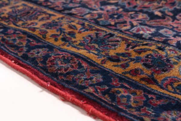 363446 Keshan Kork Manchester Wool Circa 1910 Very Good Condition Size 763 X 436 Cm 6 600x400