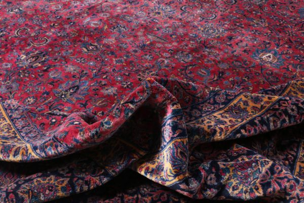 363446 Keshan Kork Manchester Wool Circa 1910 Very Good Condition Size 763 X 436 Cm 9 600x400