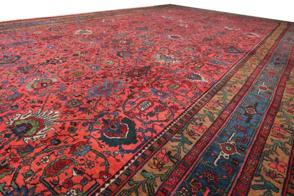 363556 Bidjar Circa 1920 Very Good Condition Size 565 X 346 Cm 3 600x400