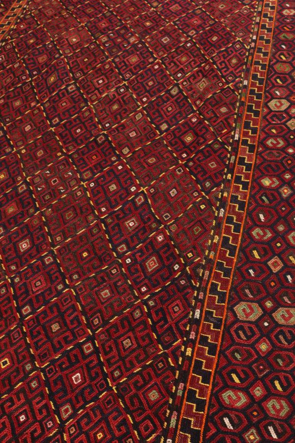 324440 Kurdi Gouchan Sumak Weave Kilim Size 405 X 185 Cm 3 600x900