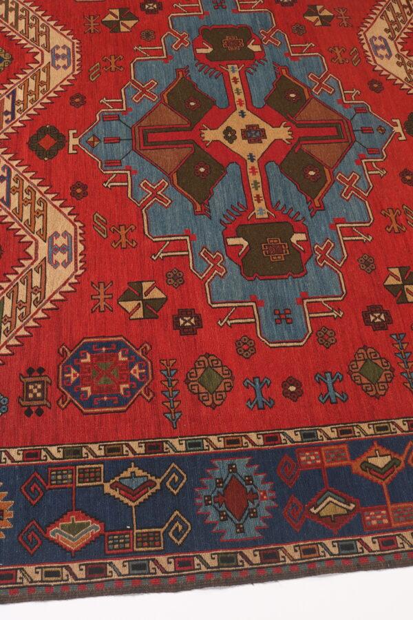 337077 Azerbaijan Verni Soumak Weave Fine Kilim Size 300 X 210 Cm 5 600x900