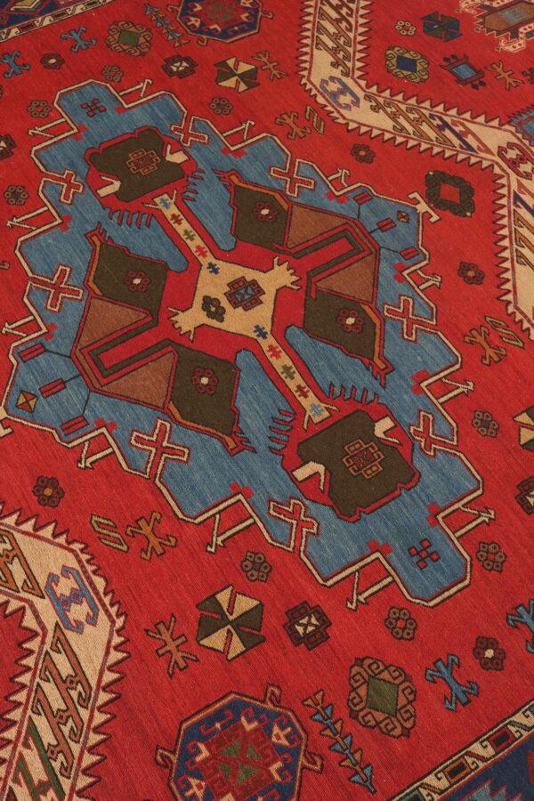 337077 Azerbaijan Verni Soumak Weave Fine Kilim Size 300 X 210 Cm 6 600x900