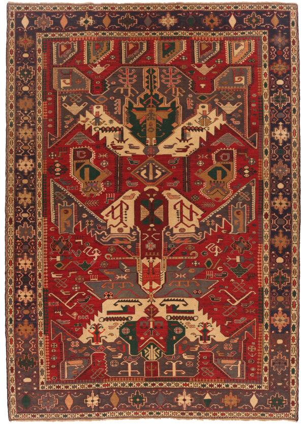 337082 Azerbaijan Verni Soumak Weave Fine Kilim Size 285 X 205 Cm 1 600x835