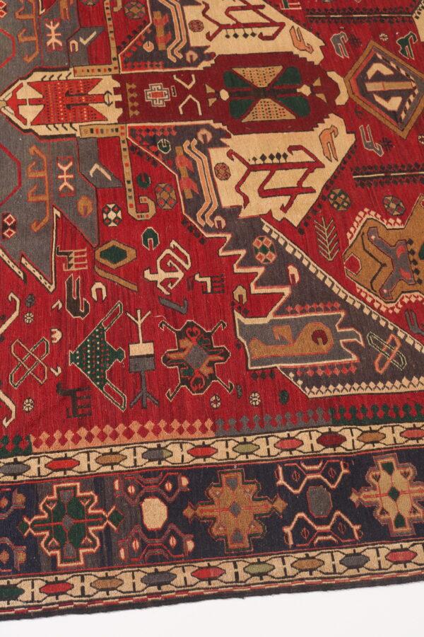 337082 Azerbaijan Verni Soumak Weave Fine Kilim Size 285 X 205 Cm 2 600x900