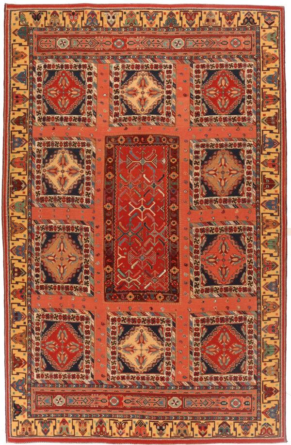 407153 Suzani Afshar Fine Kilim In Pile And Soumak Weave Size 316 X 200 Cm 1 600x919