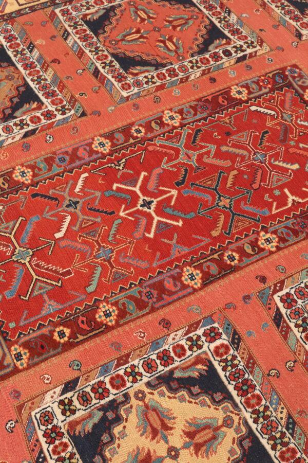 407153 Suzani Afshar Fine Kilim In Pile And Soumak Weave Size 316 X 200 Cm 3 600x900