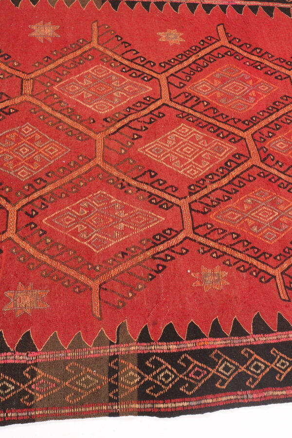 407804 Azerbaijan Shahsavan Kilim Size 303 X 152cm 2 600x900