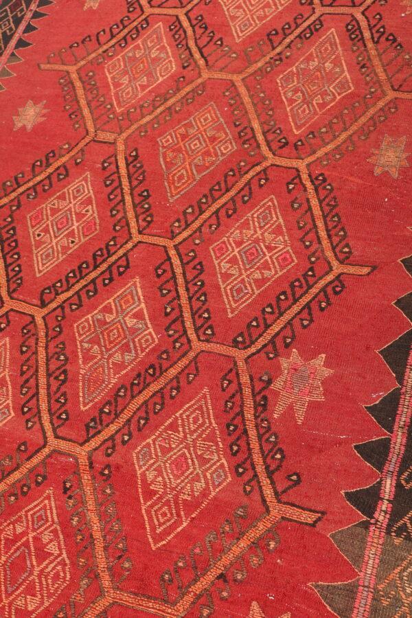 407804 Azerbaijan Shahsavan Kilim Size 303 X 152cm 3 600x900