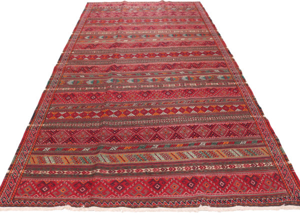 408146 Turkamen Kilim Size 358 X 184 Cm 2 600x426