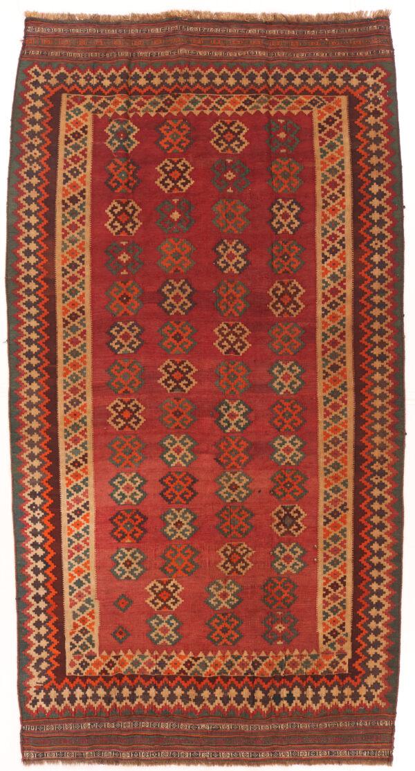 337229 Kashghai Kilim Traditional Size 300 X 158 Cm 600x1114