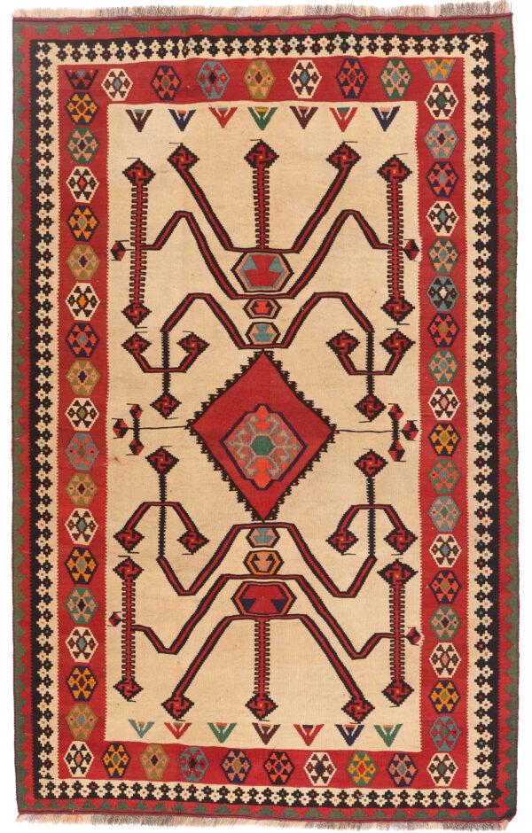 351796 Kashghai Kilim Size 256 X 153 Cm 1 600x940