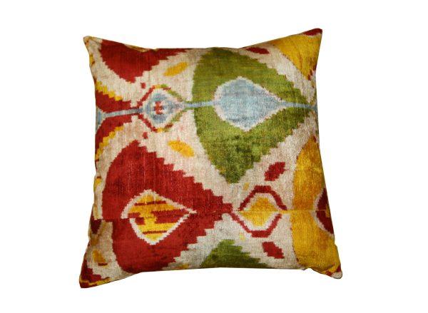 Ikat Cushions One Side Velvet One Side Silk 1 600x439