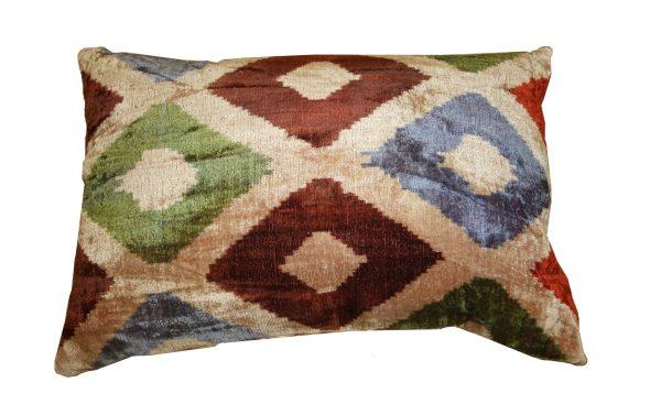 Ikat Cushions One Side Velvet One Side Silk 2 600x377