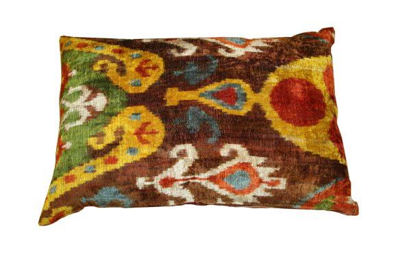 Ikat Cushions One Side Velvet One Side Silk 4 600x375