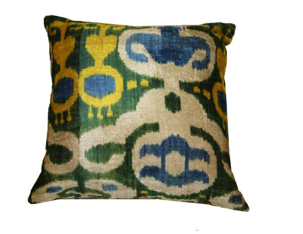 Ikat Cushions One Side Velvet One Side Silk 5 600x463