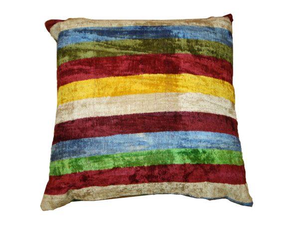 Ikat Cushions One Side Velvet One Side Silk 8 600x458