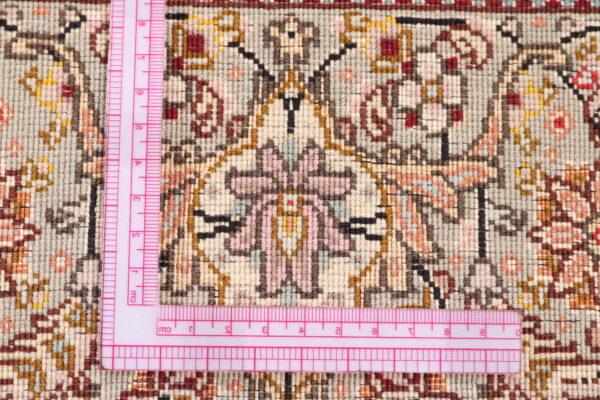 344602 Tabriz With Silk Highlights Size 241 X 173 Cm 8 600x400